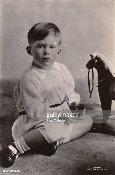 Princess Mary's Elder Son, The Hon. Geo. Henry Hubert Lascelles', circa 1926. George Lascelles, 7th Earl of Harewood , son of Mary, Princess Royal,...