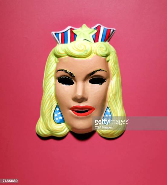 princess mask - female likeness stock pictures, royalty-free photos & images