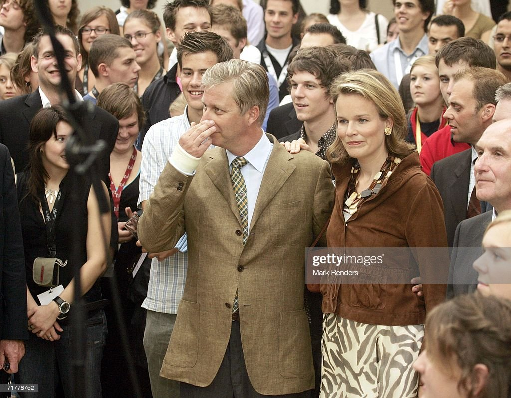 Belgium Royal Family Invite 600 Young People Involved In Social Work : Nieuwsfoto's