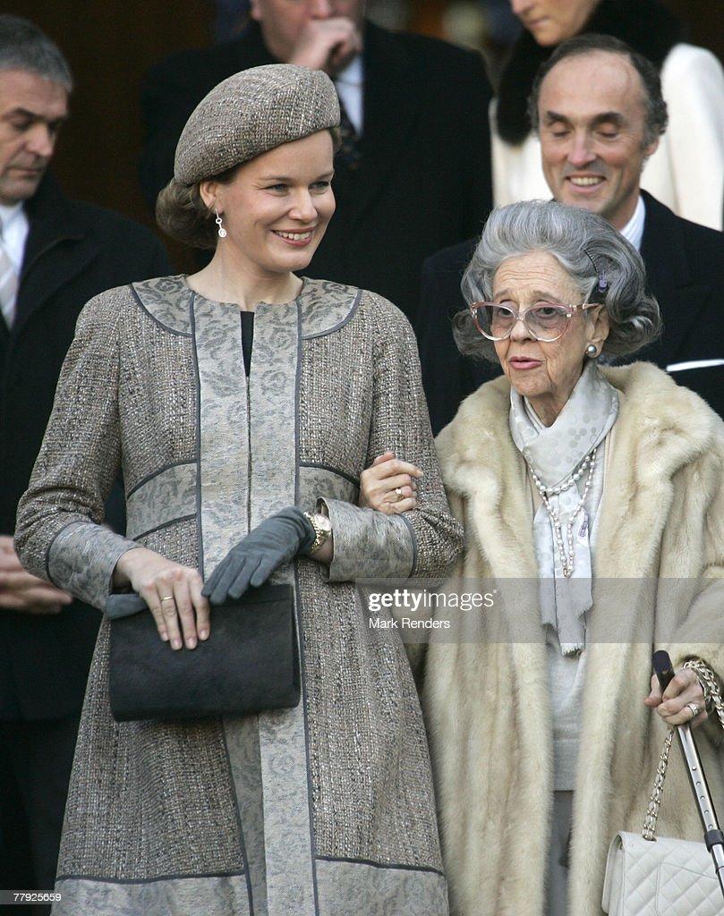 Belgium Royals Attend the 'Fete du Roi'