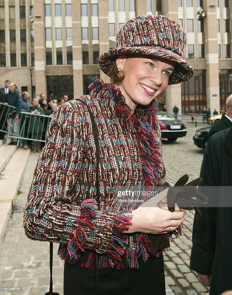 Belgium's King Albert II Honoured In Te Deum Ceremony : News Photo