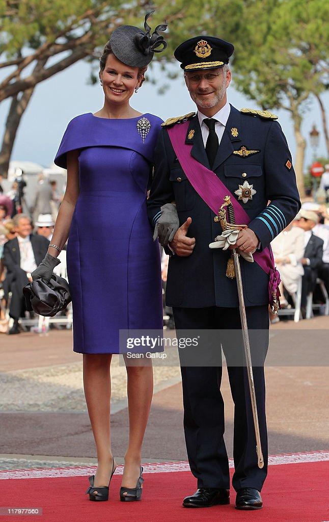 Monaco Royal Wedding - The Religious Wedding Ceremony : News Photo