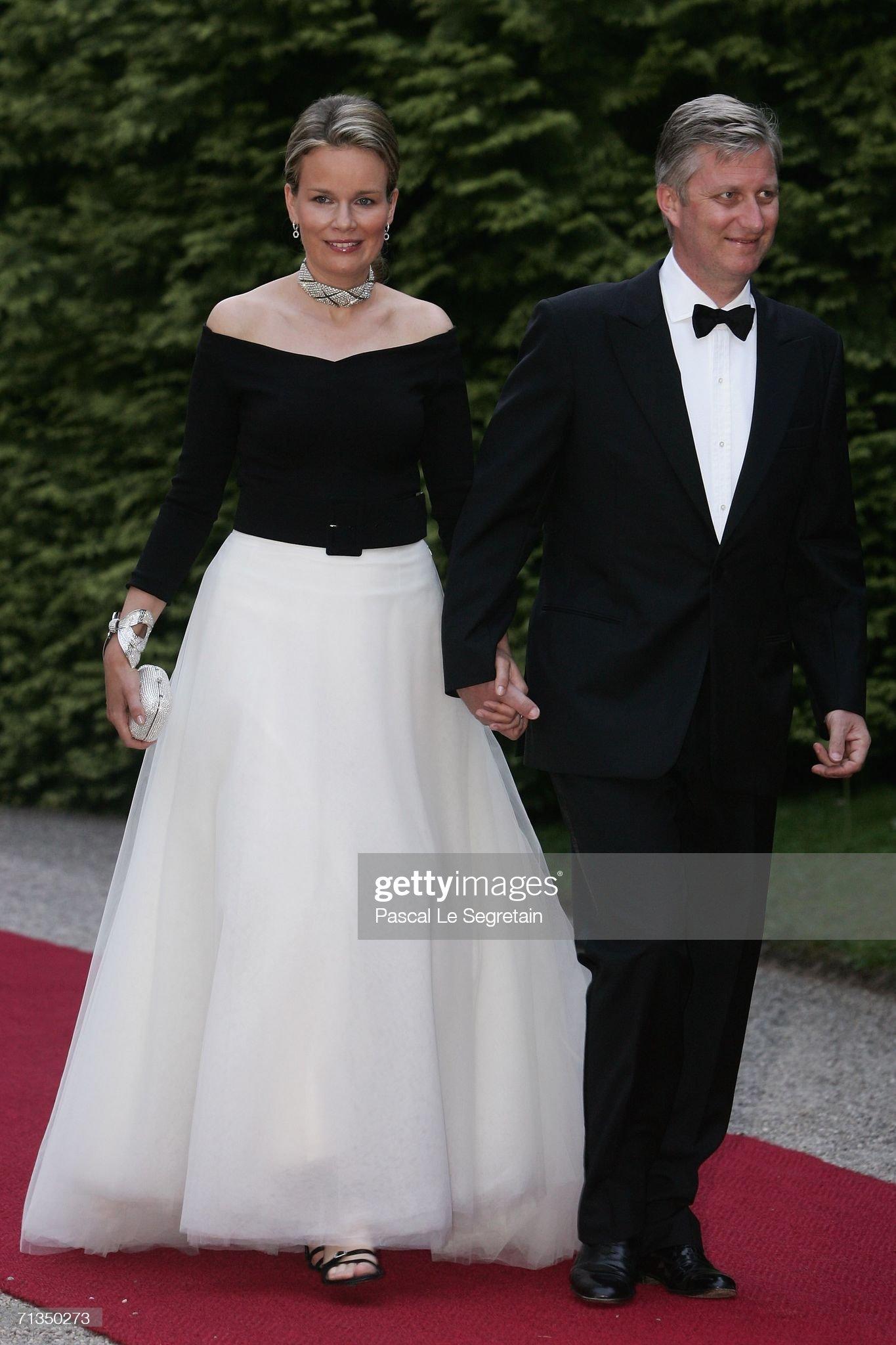 Вечерние наряды Королевы Матильды Silver Wedding Anniversary Celebrations For Luxembourgs Grand Duke & Duches : News Photo
