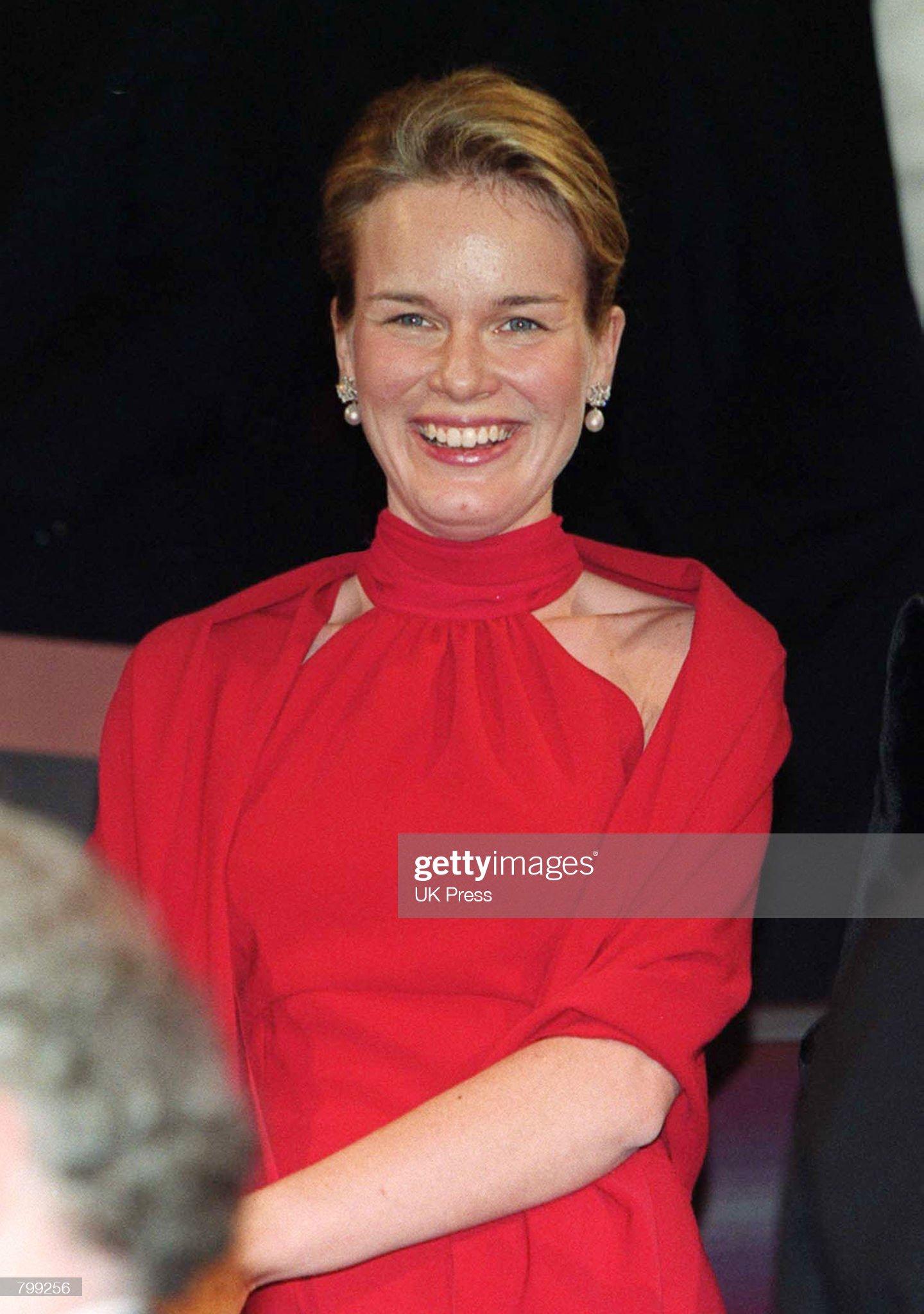 Вечерние наряды Королевы Матильды Grand Duke's Accession Celebration : News Photo