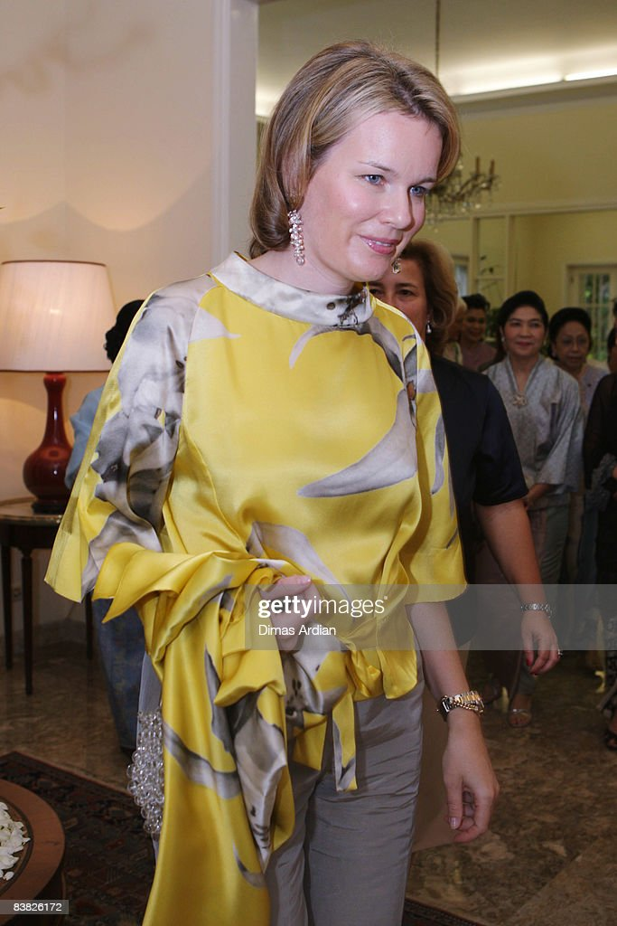 Belgium Royals Preside At Belgian Economic Mission To Indonesia - Day 5 : Nieuwsfoto's