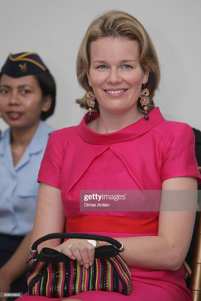 Belgium Royals Preside At Belgian Economic Mission To Indonesia - Day 3 : News Photo