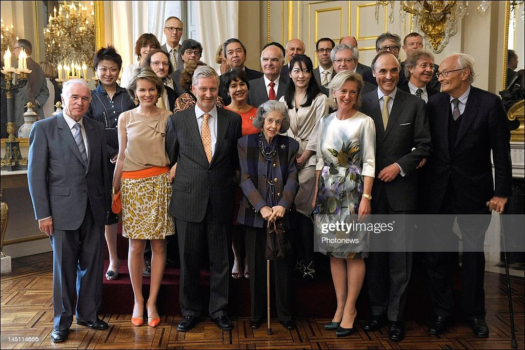 Belgian Royals Attend Lunch For The Jury Of Queen Elisabeth Competition