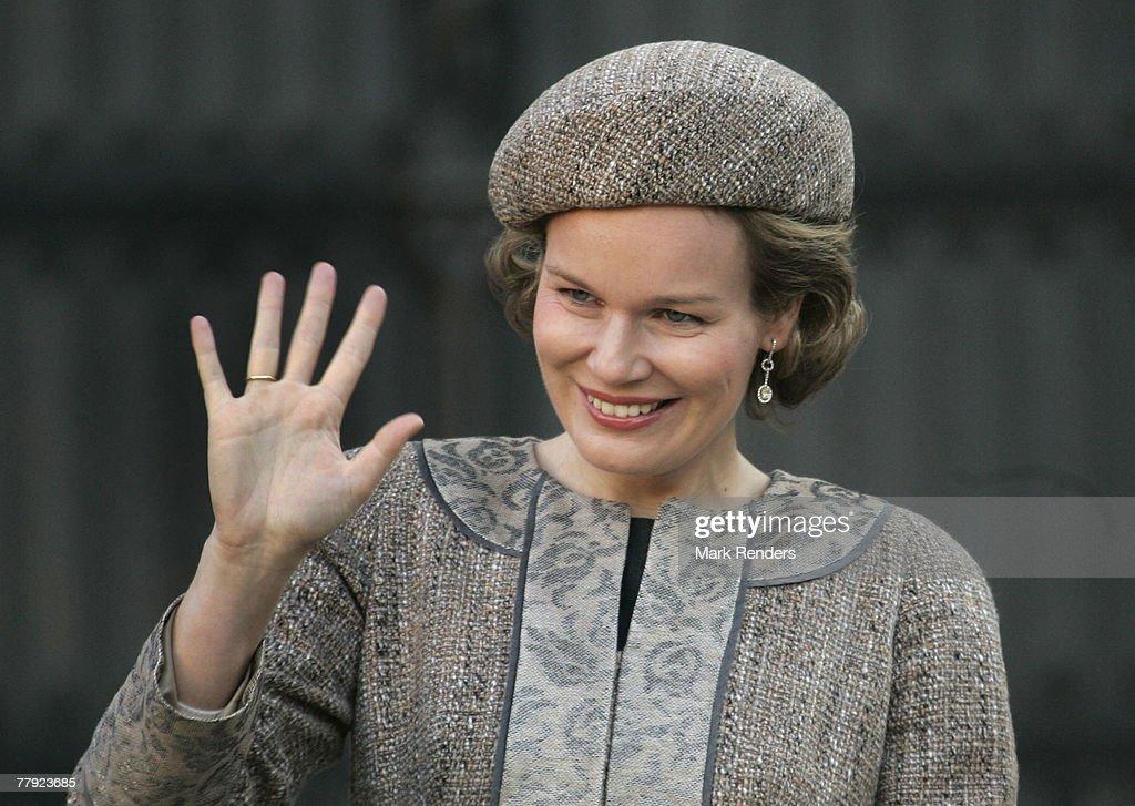"BEL: Belgium Royals Attend the ""Fete Du Roi"" (King Day) : News Photo"