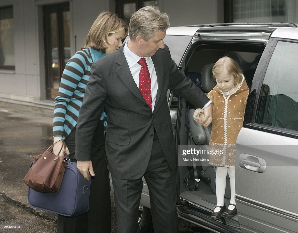 Prince Laurent & Princess Claire Have Baby Twins : News Photo