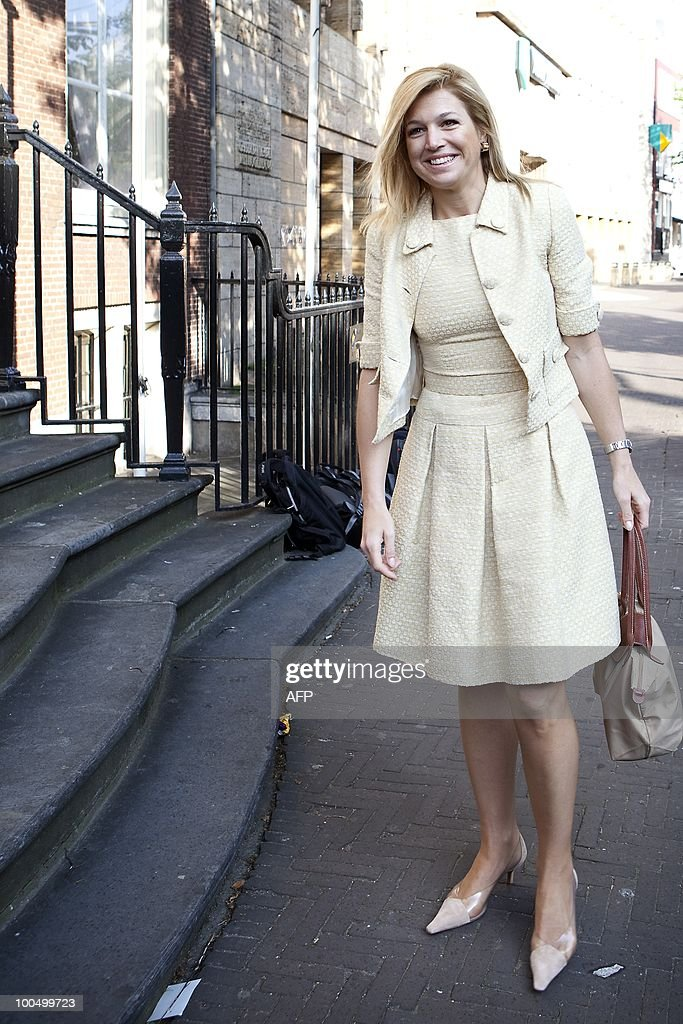 Princess Maxima of Netherlands arrives a : News Photo