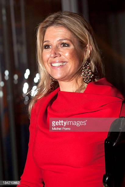 Princess Maxima of The Netherlands attends the Prince Bernhard Culture Fund Awards on November 28 2011 in Amsterdam Netherlands