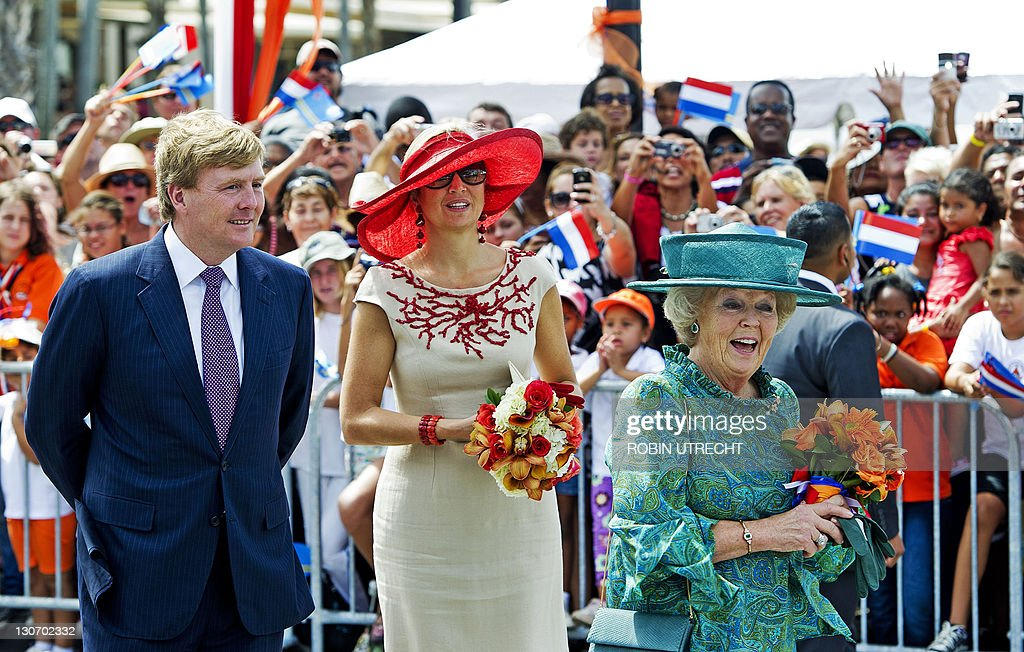 Princess Maxima (C), Prince Willem-Alexa : News Photo
