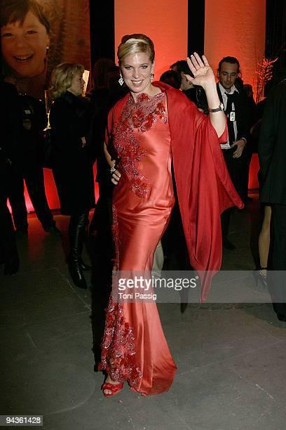 Princess Maya von Hohenzollern attends the aftershow party of 'Ein Herz fuer Kinder' Gala at Studio 20 at Adlershof on December 12 2009 in Berlin...