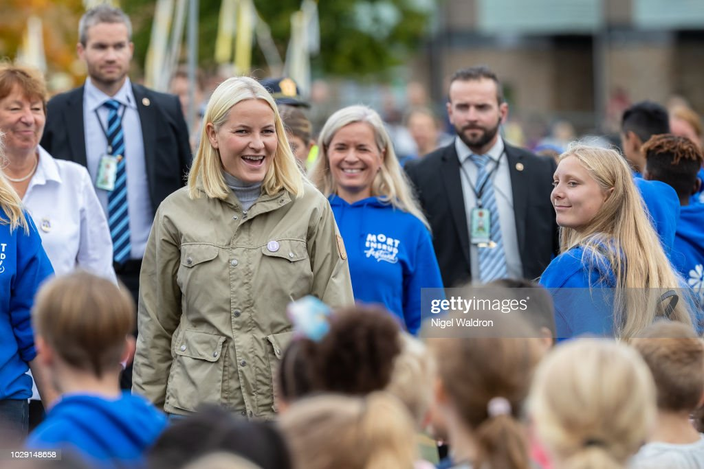 Crown Princess Mette Marit Attends The Mortensrud Festival