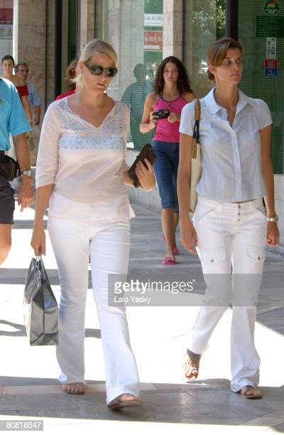 Princess Mette Marit of Norway with her Spanish friend Rosario Nadal