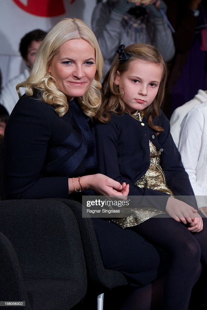 Princess Mette-Marit Of Norway Attends The Save The Children's Peace Prize Festival