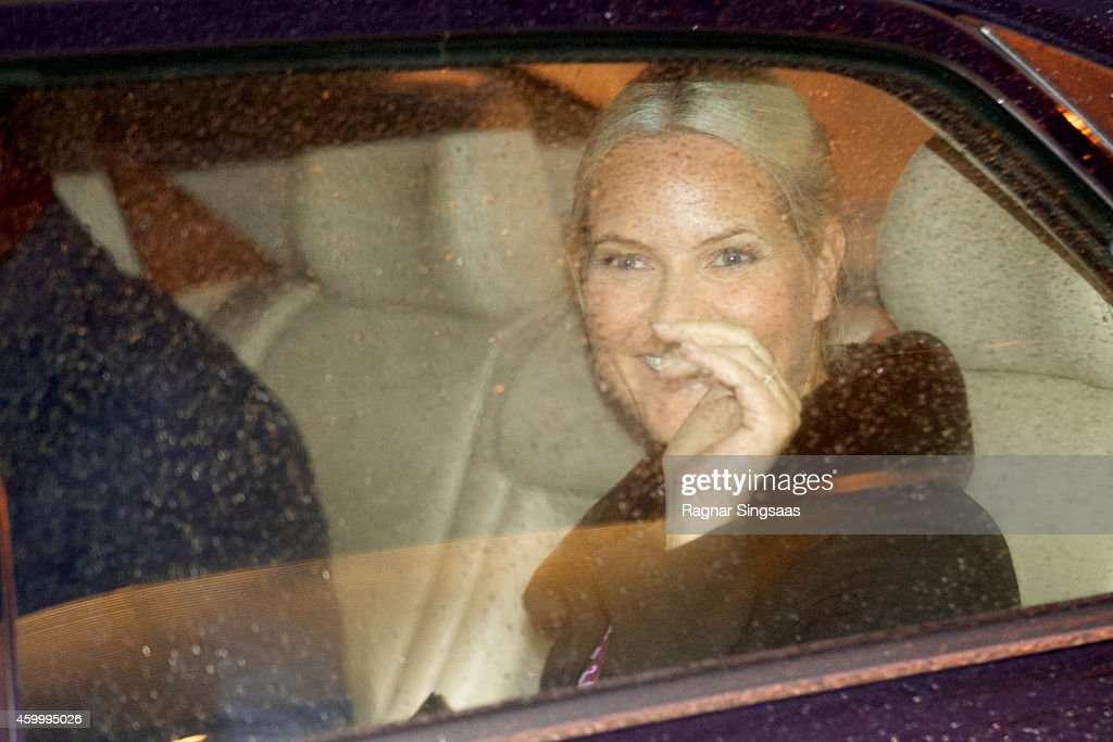 Princess Mette-Marit of Norway attends the 75th Anniversary of the Norwegian People's Aid on December 5, 2014 in Oslo, Norway.