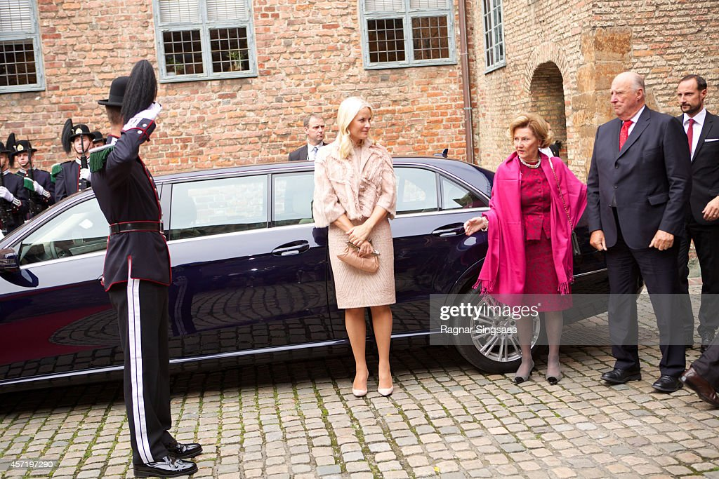 Norwegian Royals Receive President of India - Day 2 : News Photo