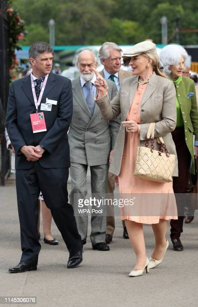 Princess Michael of Kent and her husband Prince Michael of Kent at the RHS Chelsea Flower Show 2019 press day at Chelsea Flower Show on May 20, 2019...