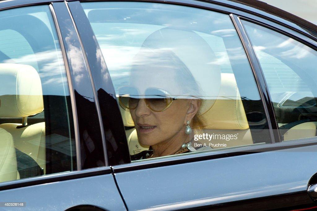 Prince George Of Cambridge Turns 1 : News Photo