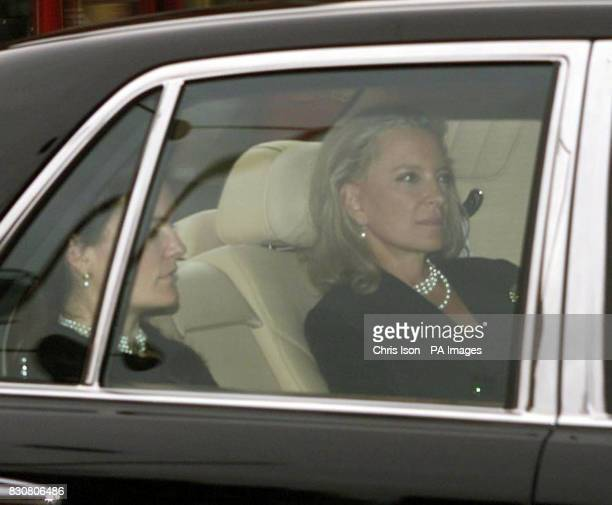 Princess Michael of Kent arrives at Kensington Palace London following news of the death of Princess Margaret who died aged 71