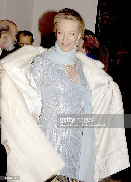 Princess Michael of Kent arrives for a banquet to honour the President of the Italian Republic and his wife Signora Ciampi during their state visit...