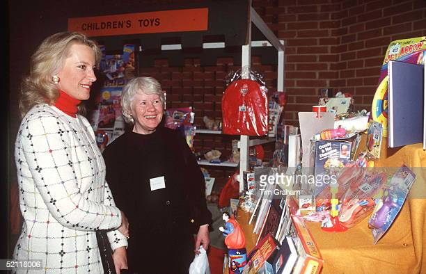 Princess Michael Of Kent At The Greater London Fund For The Blind Charity Christmas Fair At Kensington Town Hall London