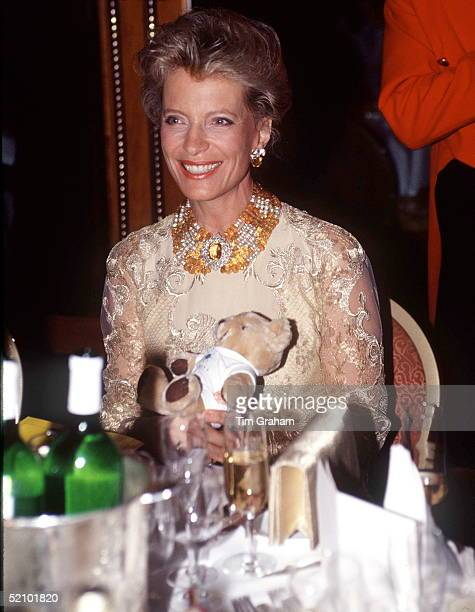 Princess Michael Of Kent At The Sparks Ball At The Hilton Hotel As Patron Of Sparks