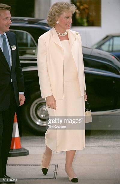 Princess Michael Of Kent Attending A Reception Hosted By The International Interior Design Association For The Benefit Of The Makeawish Foundation At...
