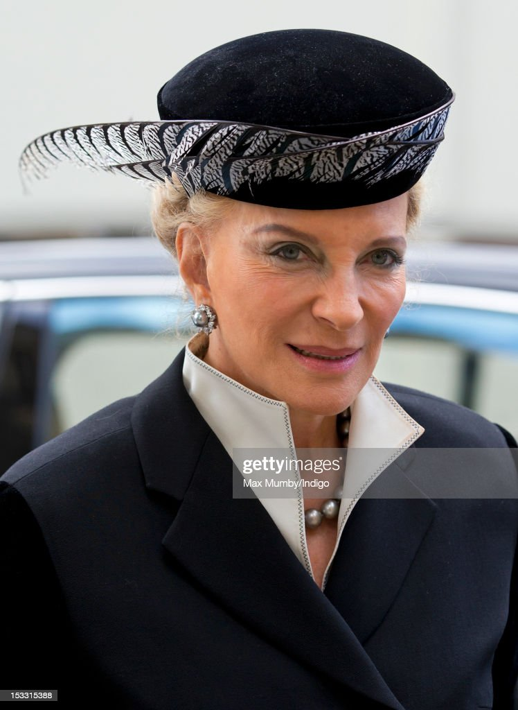 Marquess Of Londonderry - Memorial Service : News Photo