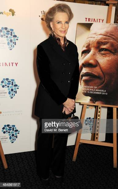 Princess Michael of Kent attends a special screening of Plot for Peace at The Curzon Mayfair on December 9 2013 in London England