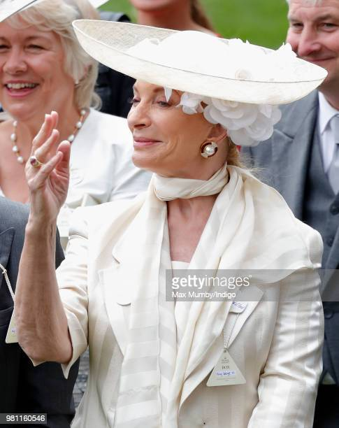 Princess Michael of Kent attends day 2 of Royal Ascot at Ascot Racecourse on June 20 2018 in Ascot England