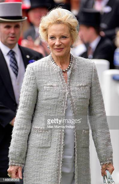 Princess Michael of Kent attends day 4 of Royal Ascot at Ascot Racecourse on June 22 2012 in Ascot England