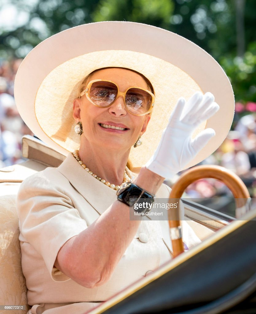 Princess Michael of Kent attends Royal Ascot 2017 at Ascot Racecourse on June 21, 2017 in Ascot, England.