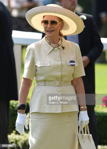 Princess Michael of Kent attends Royal Ascot 2017 at Ascot Racecourse on June 21 2017 in Ascot England