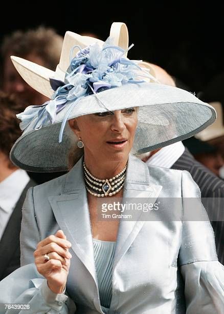 Princess Michael of Kent attends the 10th Anniversary Memorial Service For Diana Princess of Wales at Guards Chapel at Wellington Barracks on August...