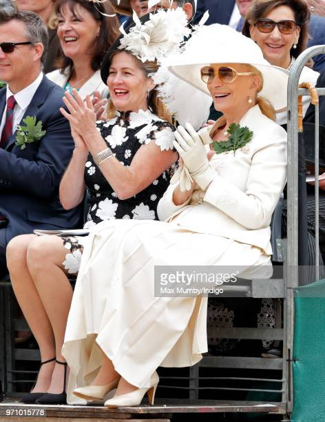 Princess Michael of Kent attends the annual Founder's Day Parade at the Royal Hospital Chelsea on June 7 2018 in London England Founder's Day...