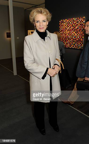 Princess Michael of Kent attends the Frieze Masters VIP Preview in Regent's Park on October 15 2013 in London England