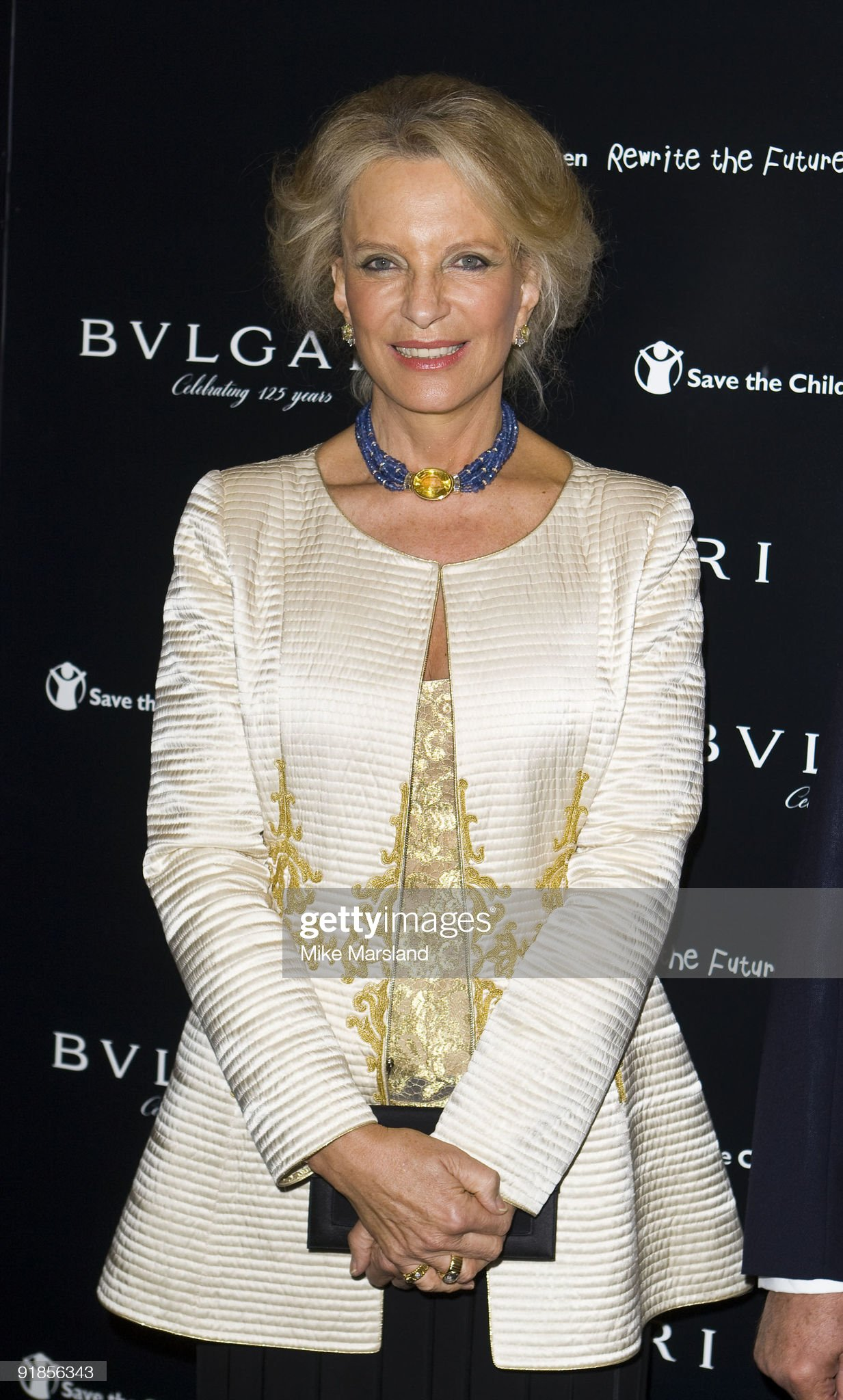 Vogue/Bvlgari - Charity Reception : News Photo