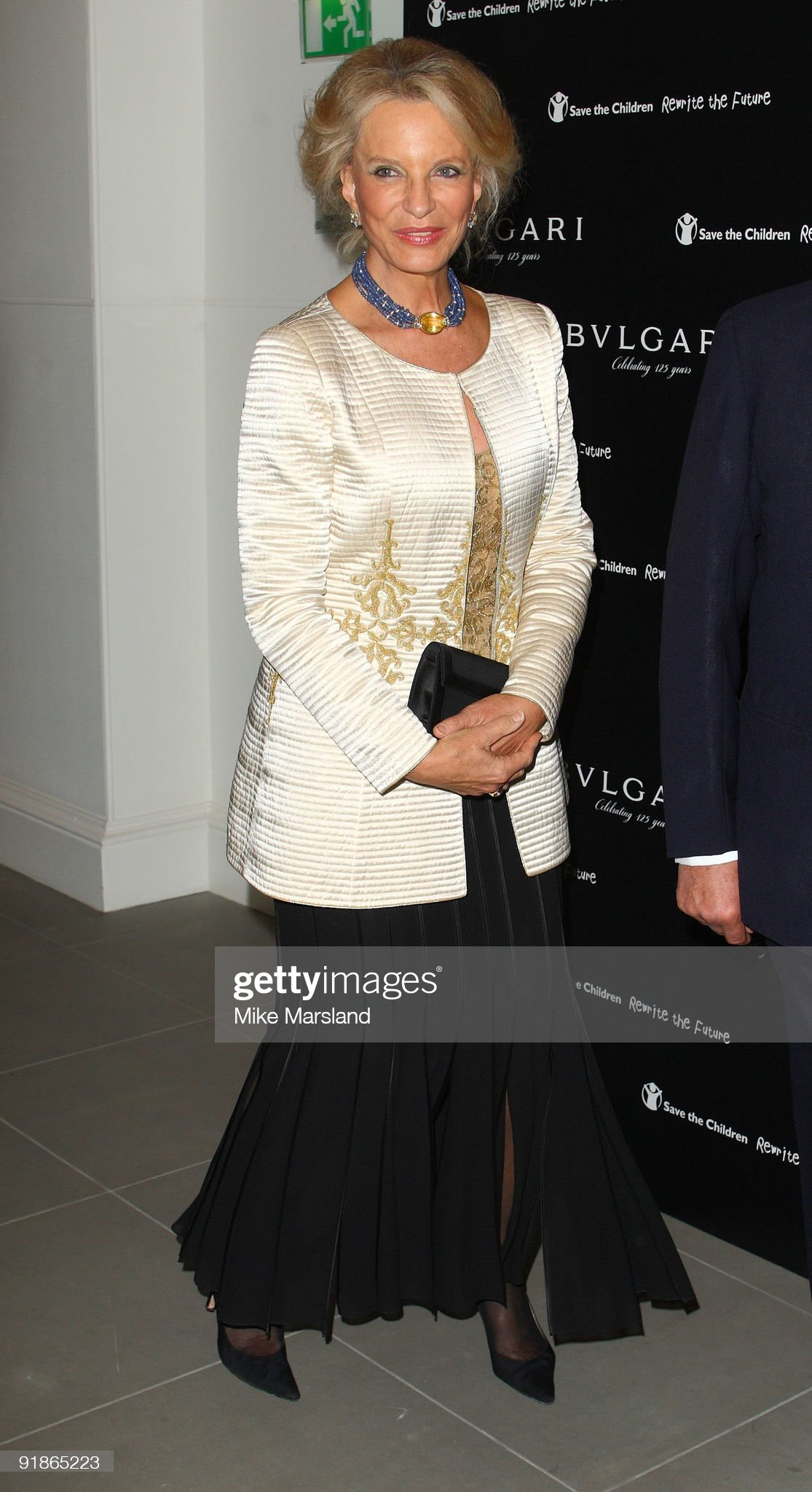 Vogue/Bvlgari - Charity Reception - Inside Arrivals : News Photo