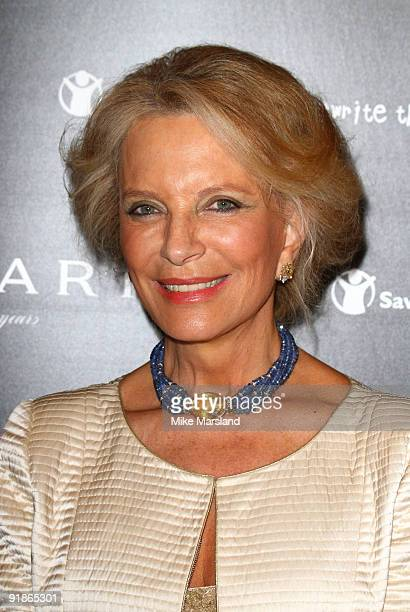Princess Michael of Kent attends the Vogue/Bvlgari reception in honour of Save The Children/Rewrite The Future at Saatchi Gallery on October 13 2009...