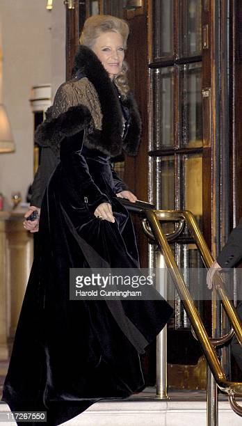 HRH Princess Michael of Kent during HRH The Queen's 80th Birthday Party Arrivals December 5 2006 at The Ritz in London Great Britain