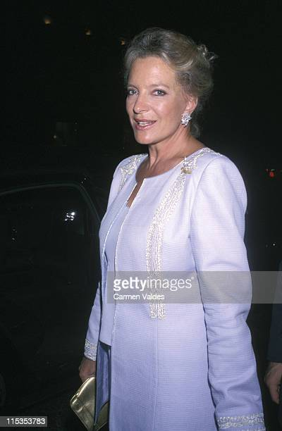 Princess Michael of Kent during Madison Ave Where Fashion Meets Art at Calvin Klein Boutique in New York City New York United States