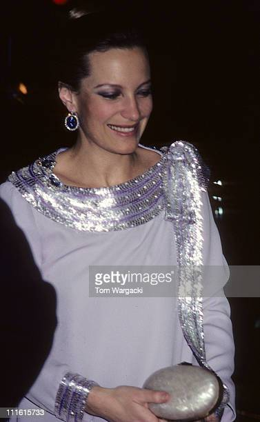 Princess Michael of Kent during Princess Michael of Kent at Charity Dinner 1980 at London in London Great Britain