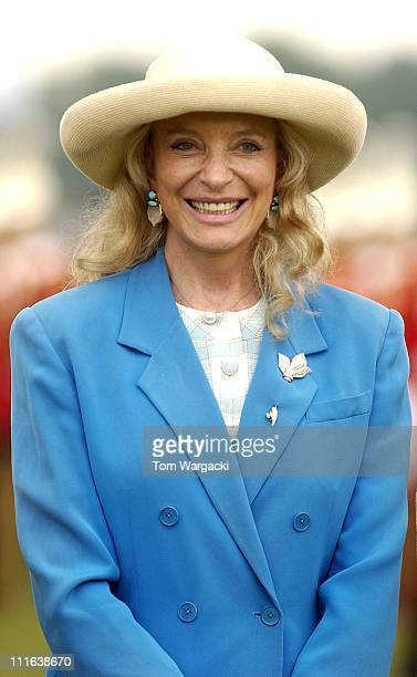 HRH Princess Michael of Kent during The Credit Suisse Royal Windsor Cup Final at Guards Polo Club in Windsor Great Park Great Britain