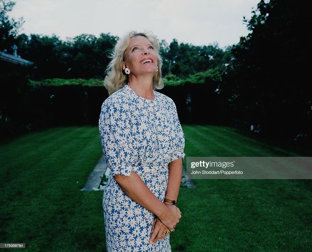 Princess Michael of Kent in a garden in Kent, in 2004.