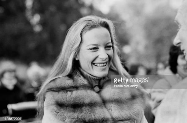 Princess Michael of Kent in Brighton UK 3rd November 1980