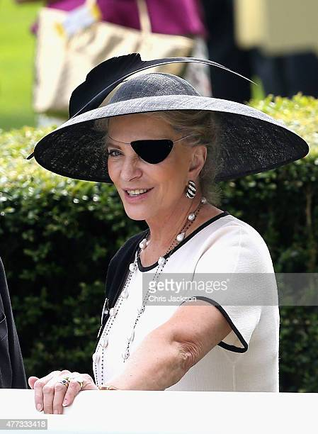 Princess Michael of Kent in the parade ring on day 1 of Royal Ascot at Ascot Racecourse on June 16 2015 in Ascot England