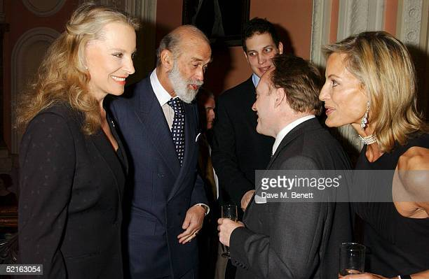Princess Michael of Kent Prince Michael of Kent Lord Freddie Windsor writer Andrew Roberts and partner Leonie Frieda attend the book launch for...