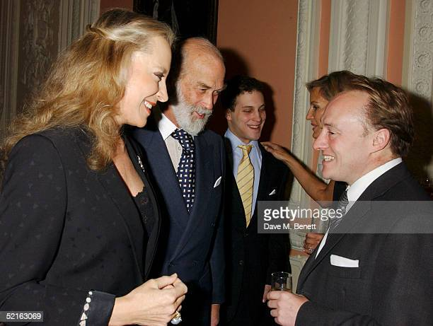 Princess Michael of Kent Prince Michael of Kent Lord Freddie Windsor and writer Andrew Roberts attend the book launch for historian Andrew Roberts...